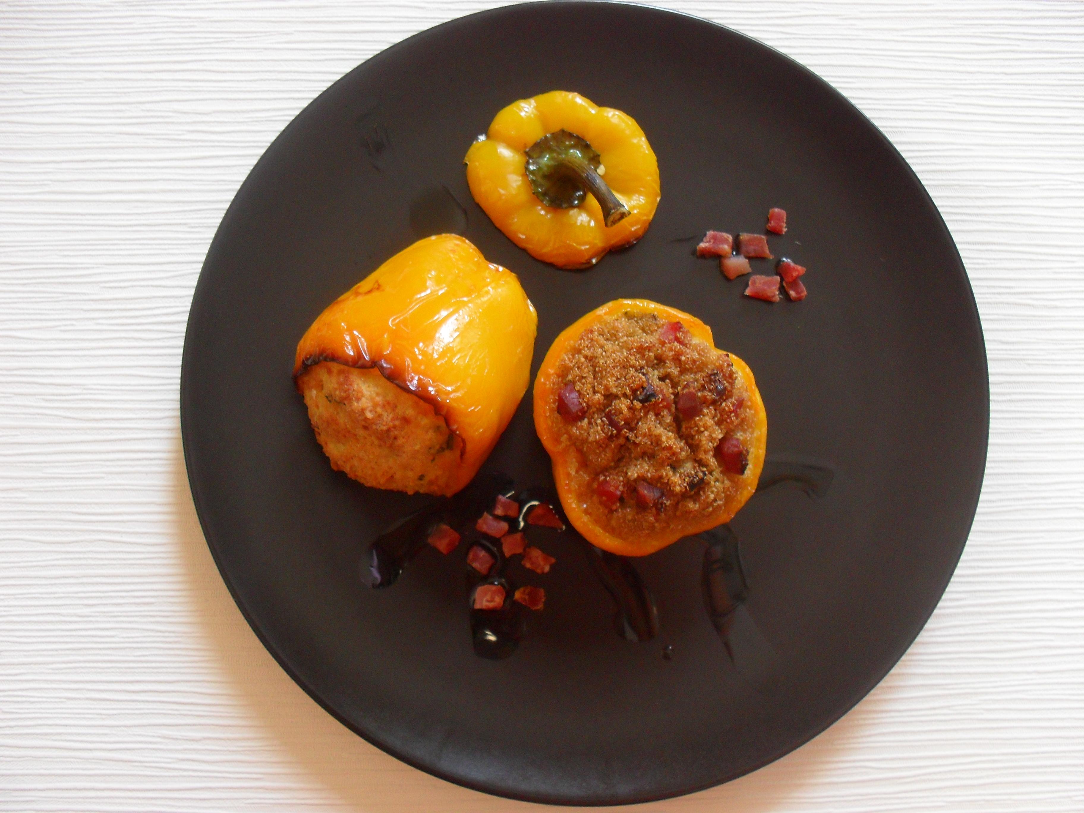 Peperoni ripieni di amaranto